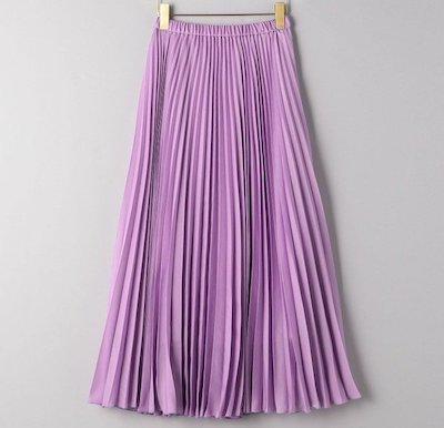 UNITED ARROWS(ユナイテッドアローズ)UWFM シアー プリーツ ロングスカート