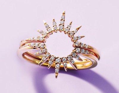 STAR JEWELRY太陽モチーフの指輪
