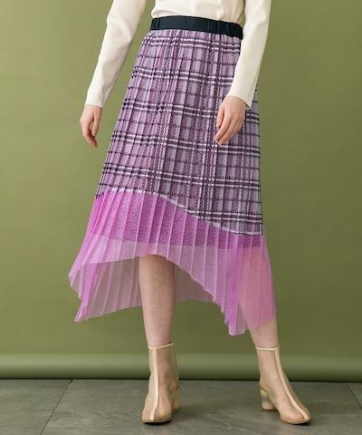 UNITED TOKYOレースプリーツスカート