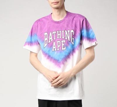 A BATHING APE(アベイシングエイプ)Tシャツ BAPE TIE DYE TE