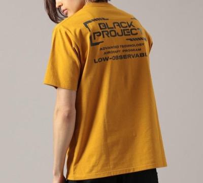 AVIREX(アヴィレックス)ブラック プロジェクト Tシャツ/BLACK PROJECT T-SHIRT