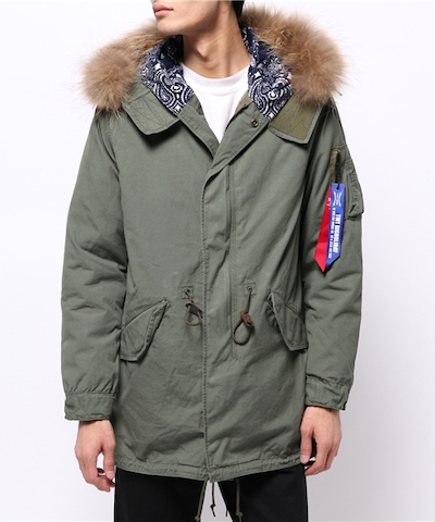 Alpha Industries モッズコート ALPHA TMT M-51 MODS COAT
