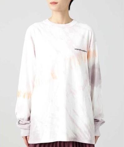 ROSE BUD(ローズバッド)タイダイロングTシャツ