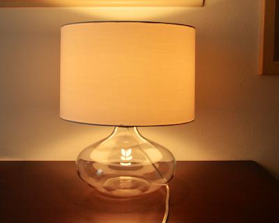 DI CLASSE Acqua table lamp white(ディクラッセ アクア テーブルランプ ホワイト)