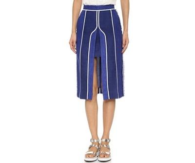 Acne StudiosKent Linen Skirt