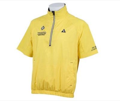 le coq sportif(ルコック)ゴルフウェア ジャケット メンズ 半袖ハイブリッド