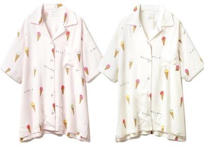 gelato pique(ジェラートピケ) アイスモチーフシャツ