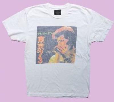 Retro Brand David Bowie 東京Tシャツ