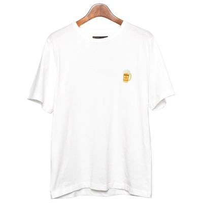 In'crewsive(インクルーシブ)半袖Tシャツ メンズ おしゃれ 半袖 刺繍 6.5オンス ワンポイント カットソー