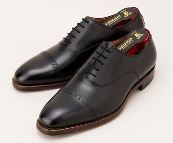 戸次重幸さん(役:郷田 行成 )が着用の黒色の革靴