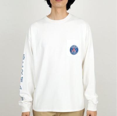 Paris Saint-GermainGERMAIN FACE ロングTシャツ