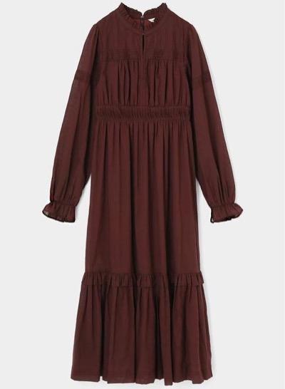 MOUSSY(マウジー)COTTON FLORAL ドレス