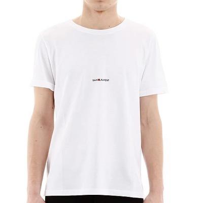 Saint Laurent(イヴ サンローラン)ロゴプリント Tシャツ