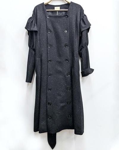 EAUSEENONPuff sleeve coat