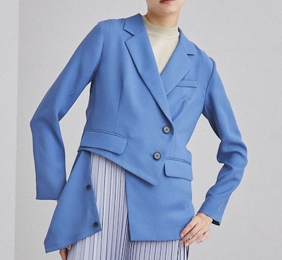 UNITED TOKYOテーラードジャケット アシメマルチジャケット
