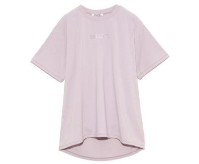 SNIDELフォイルプリントTシャツ