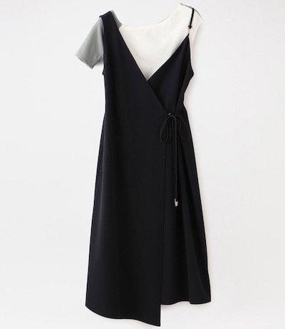 LOVELESS(ラブレス)アシンメトリースタイリングドレス