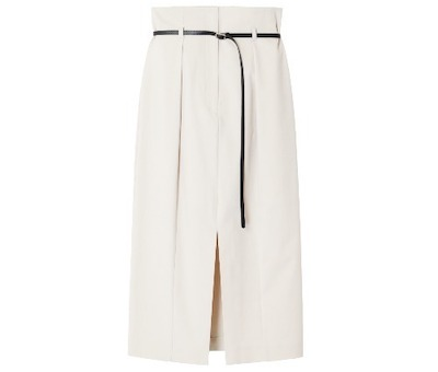 LE CIEL BLEU Belted High Waited Skirt