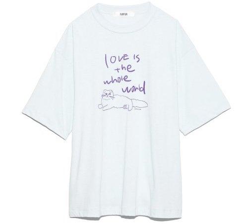 FURFURプリントTシャツ