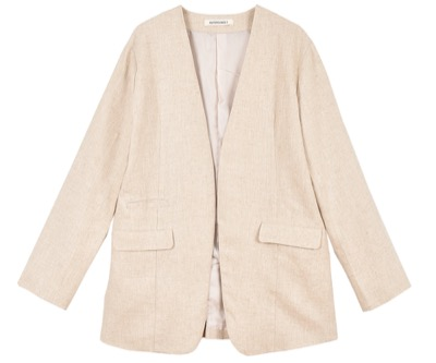 OUTERSUNSET no collar jacket