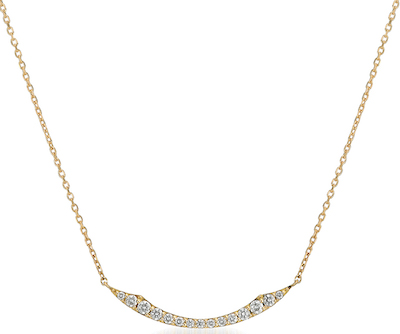 STAR JEWELRY DIAMOND SHOOTING STAR NECKLACE(L) K18 ネックレス