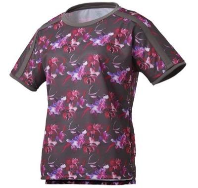 DESCENTEフラワーグラフィック 半袖Tシャツ