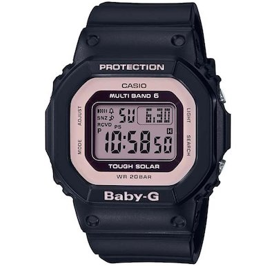 【ブラックのデジタル腕時計】第6話中盤:中村アンさんが動物病院で働いているシーンで着用