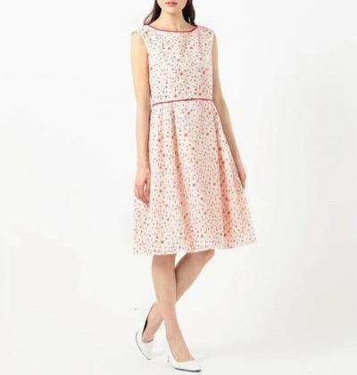TOCCA(トッカ)【洗える!】TRUMPET FLOWER ドレス