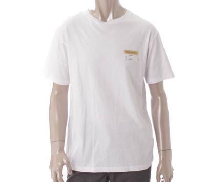 Christian Dior(クリスチャン ディオール)19SS メンズ ビジターパッチ クルーネック Tシャツ
