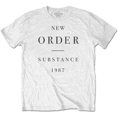 ニューオーダー New Order メンズ Tシャツ トップス - Substance White