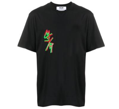 MSGMロゴ Tシャツ