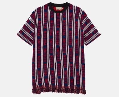 MAISON KITSUNEユニセックス オールオーバー Tシャツ