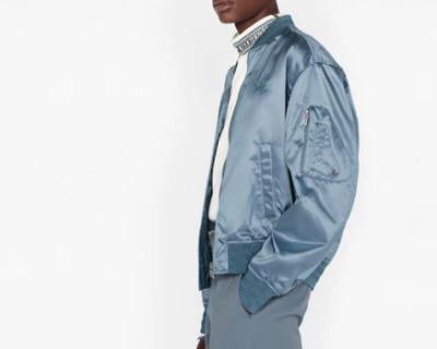 Diorディオール & ショーン テクニカルサテン ツイル ボンバージャケット