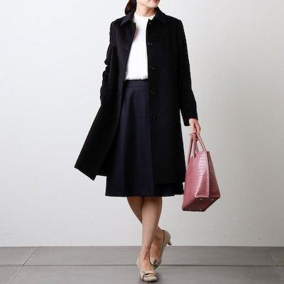 NEWYORKERMy Dearest Coat/ウールシルクアンゴラビーバー ステンカラー コート