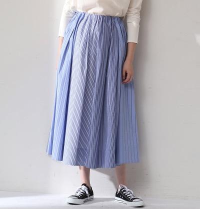 ADIEU TRISTESSE(アデュー トリステス) 切り替えギャザースカート