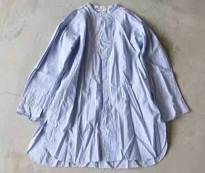 Veritecoeurロンドンストライプシャツ