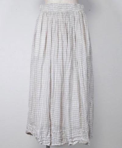 veritecoeurシャーリングスカート