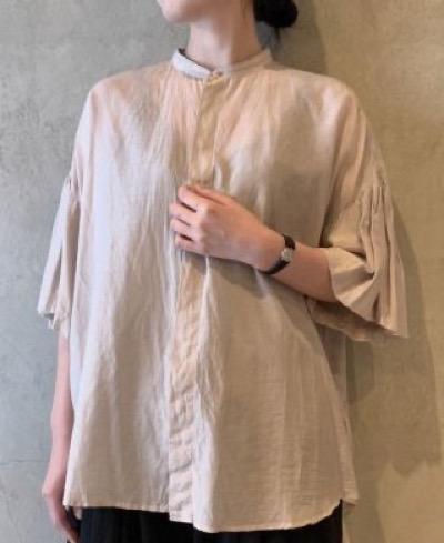 suzuki takayuki balloon-sleeve blouse