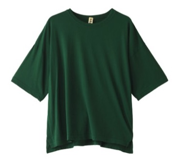 nagonstans Light Jersey Basic Tシャツ