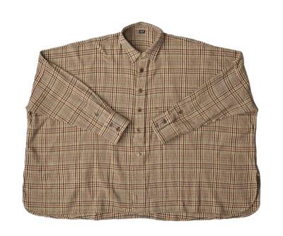 45R インドうすネルのビッグシャツ