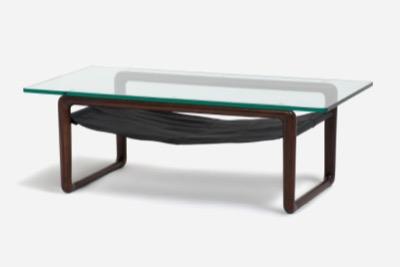 IDCOTSUKAセンターテーブル「ハンモック」120 ウォールナット
