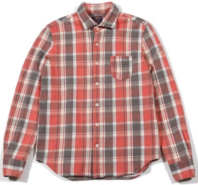 TMT COLLOR OFF HEAVY NELL CHECK SHIRTS