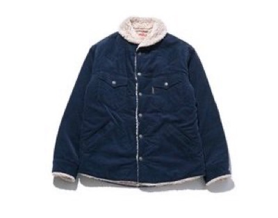 HOLLYWOOD RANCH MARKET Corduroy Boa Lining Jacket