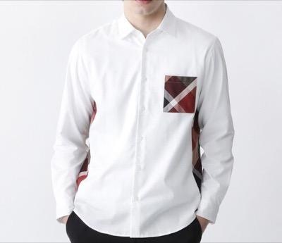 BLACK LABEL CRESTBRIDGE サイドチェックシャツ