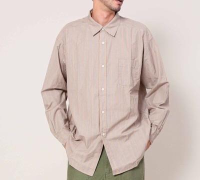 Johnbullコンフォータブルレギュラーカラーシャツ