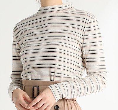 HoneysテレコハイネックTシャツ