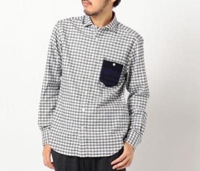 GLOSTERオックスハンドステッチシャツ