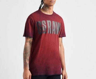 G-STAR RAWDouble Dye Logo T-Shirt