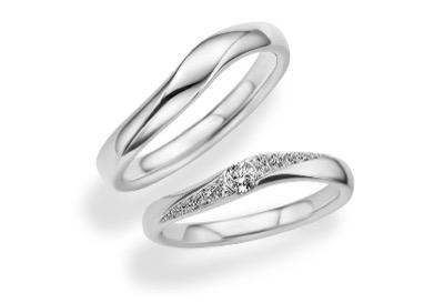 TRECENTIフェリーチェウェーブ 双子ダイヤモンド