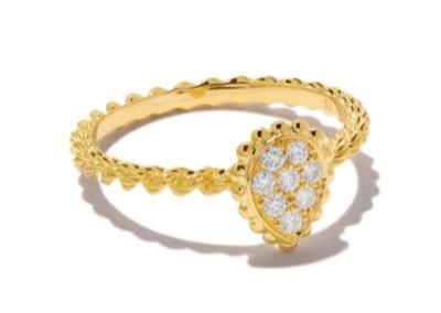 BOUCHERON セルパンボエム ダイヤモンド リング XS 18Kイエローゴールド